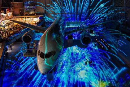 FLIGHT OF DREAMS プロジェクションマッピング