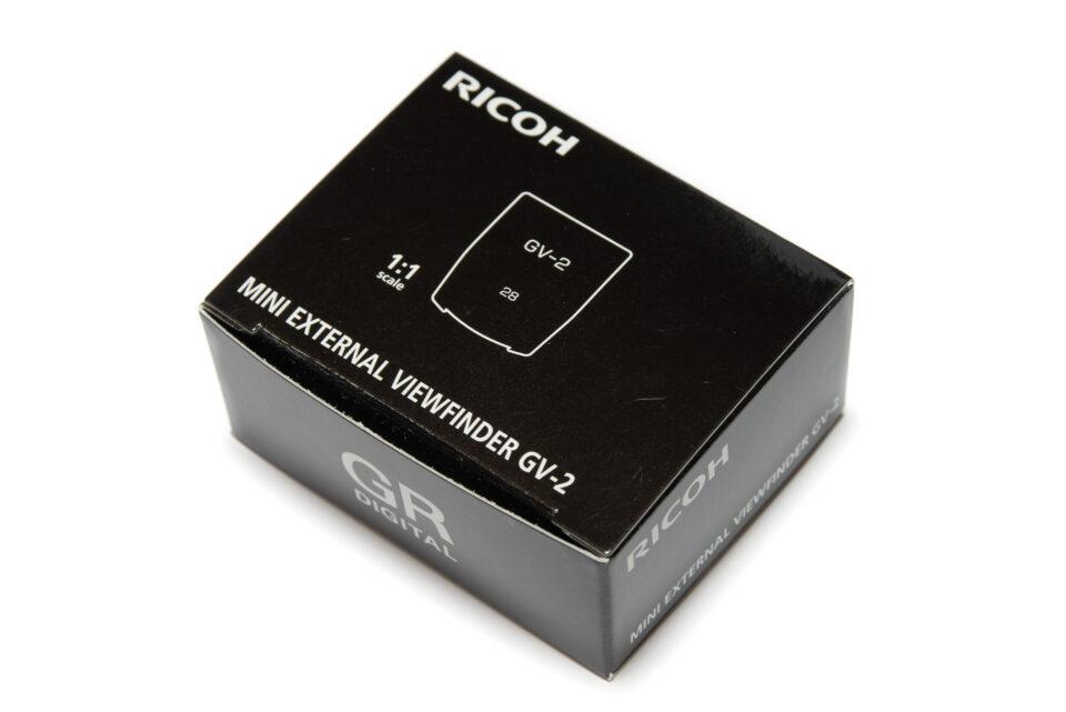 RICOH GV-2の箱
