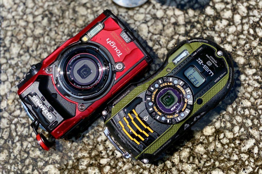 防水コンパクトカメラ
