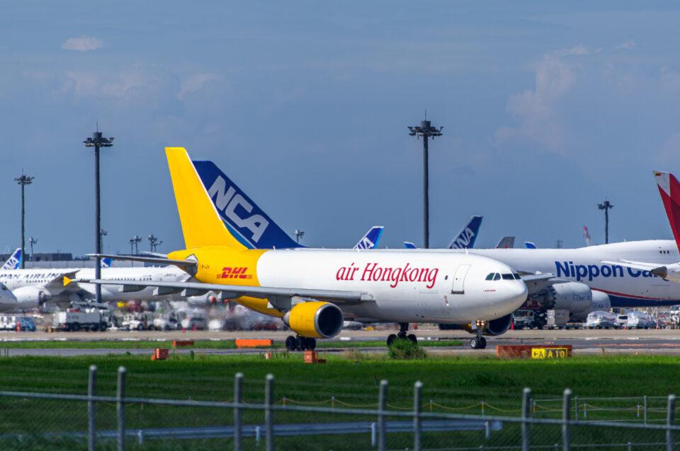 Air Hong KongのA300-600F