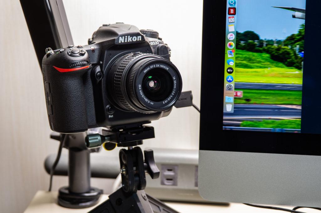 D500をWEBカメラ化