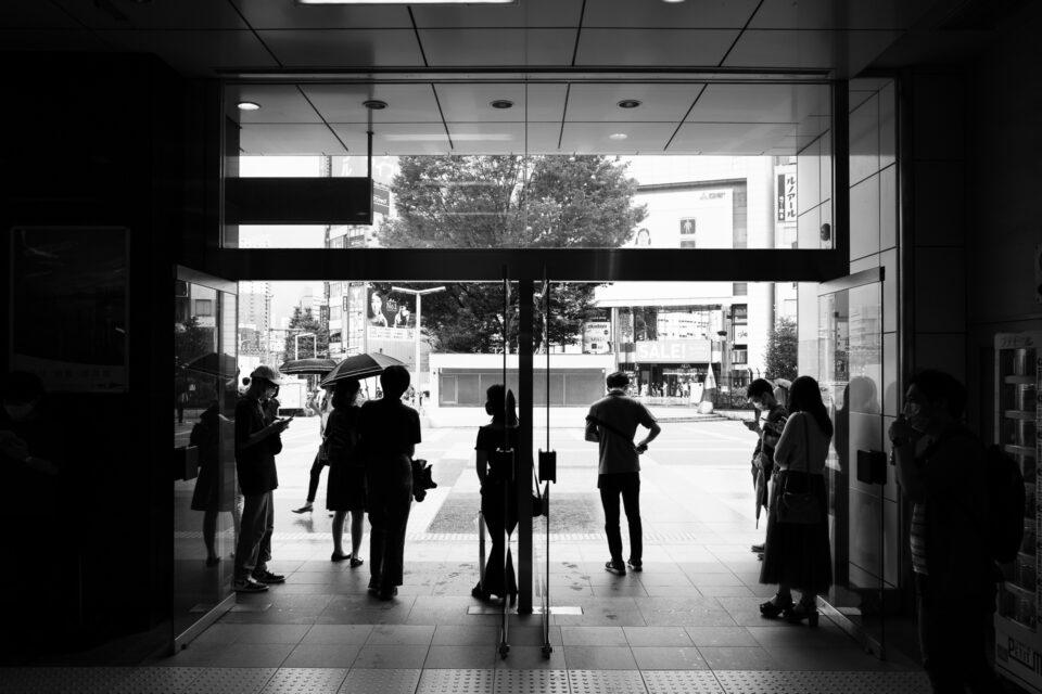 新宿東口の出口