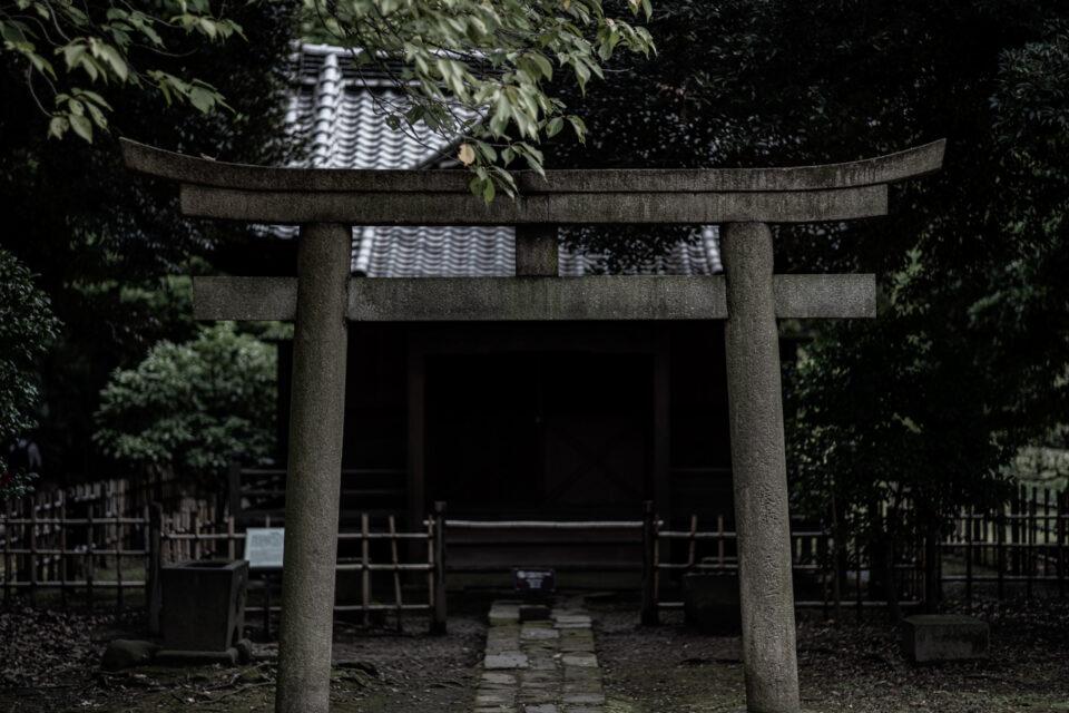 旧稲生神社の鳥居