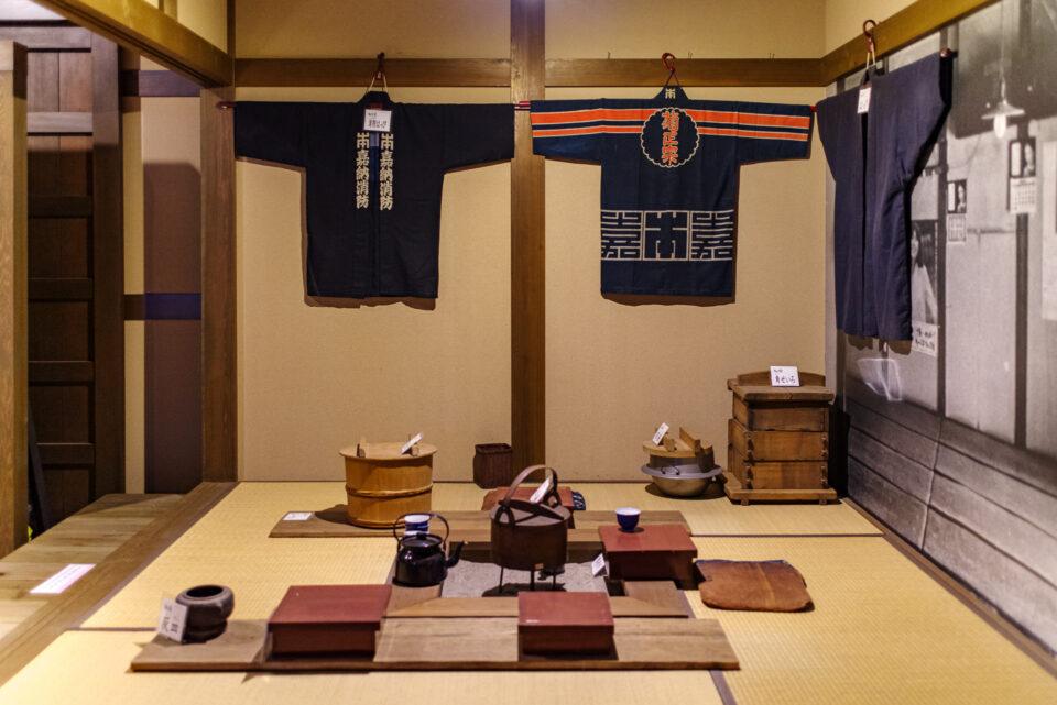 菊正宗の博物館内