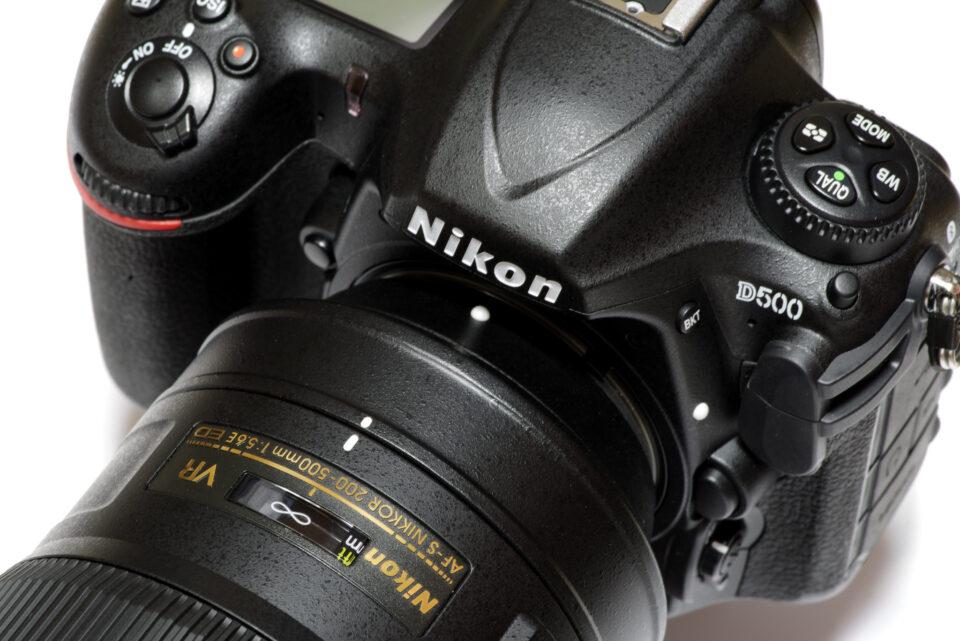 Nikon D500 と AF-S200-500mmF5.6