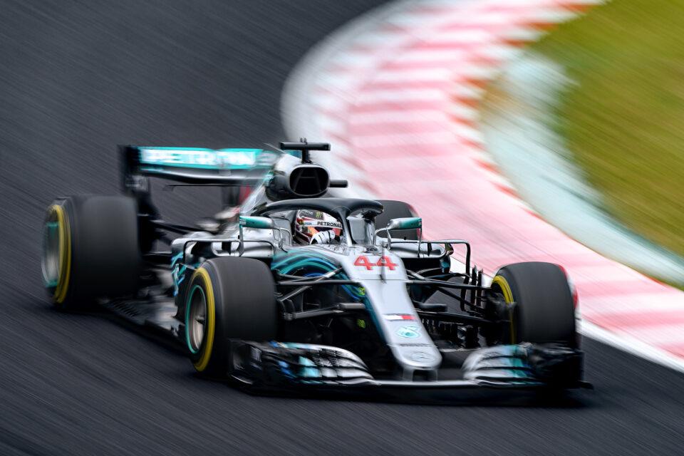 2018年F1日本GP メルセデス/ルイス・ハミルトン