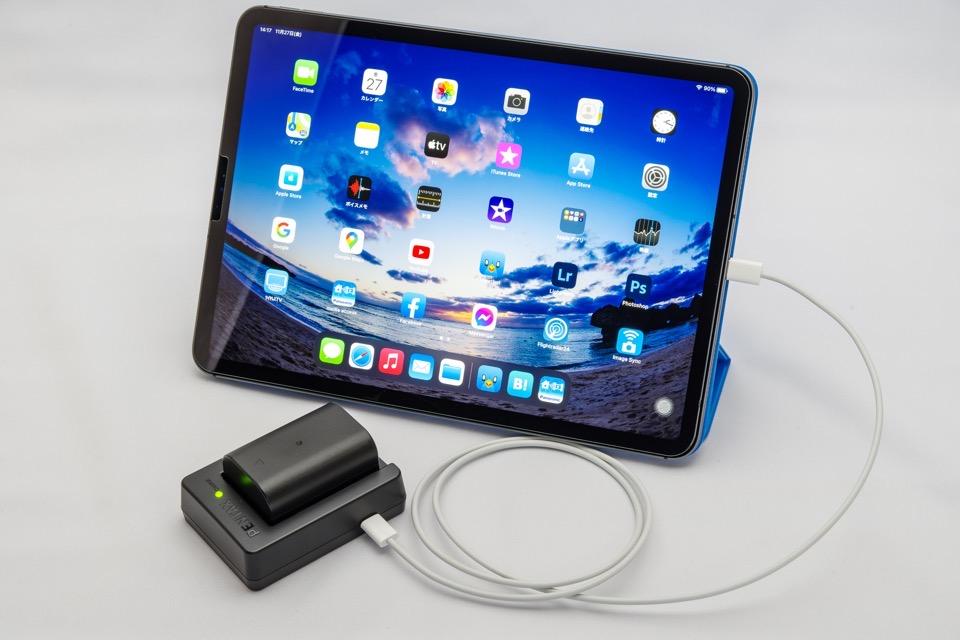 iPad ProからD-BC177で充電