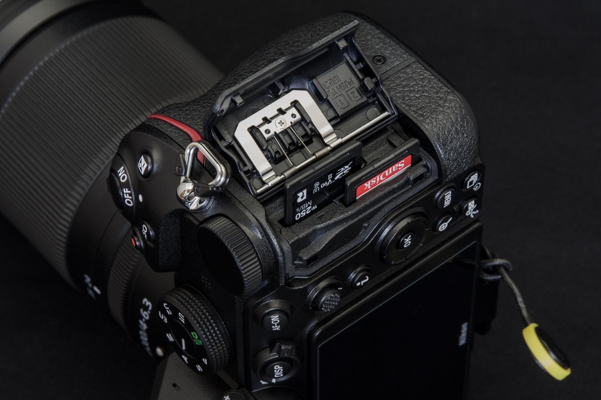 Nikon Z 5 Card Slot