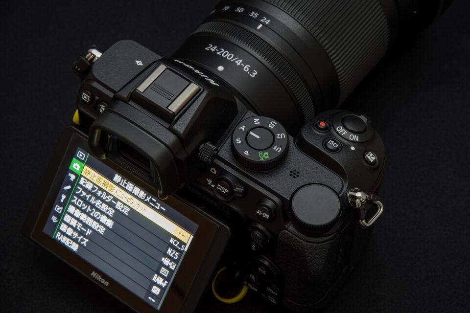 Nikon Z 5 モードダイヤル周辺
