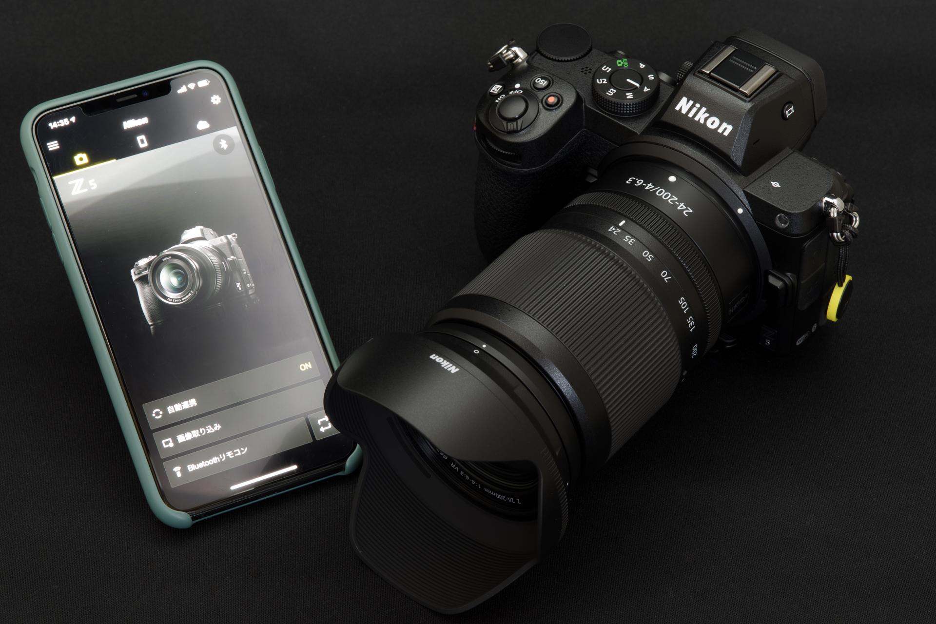 Nikon Z 5 と SnapBridge