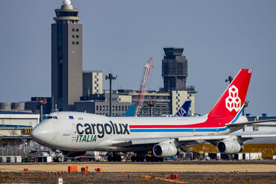 CargoluxのB747-400F