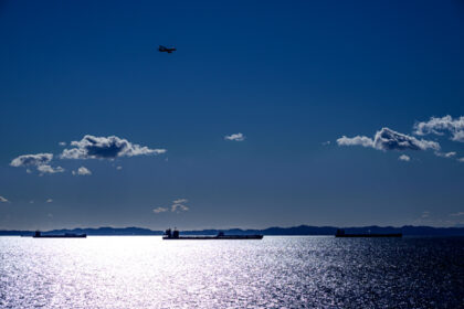 海ほたるから見た東京湾