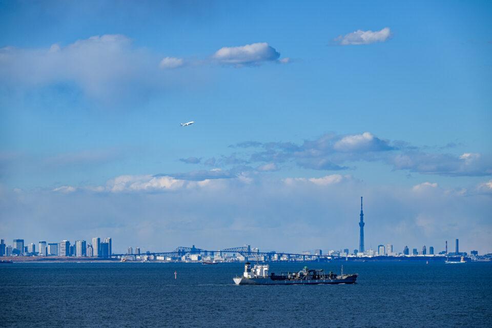 東京ゲートブリッジと東京スカイツリー
