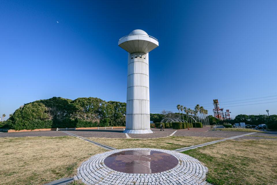 袖ケ浦海浜公園の展望台
