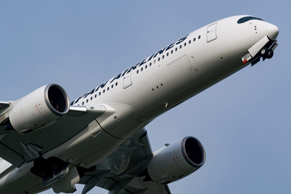 JAL A350-900ノーズ