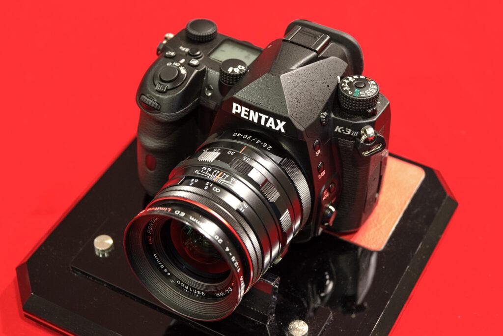 K-3 Mark III + DA20-40mm Limited