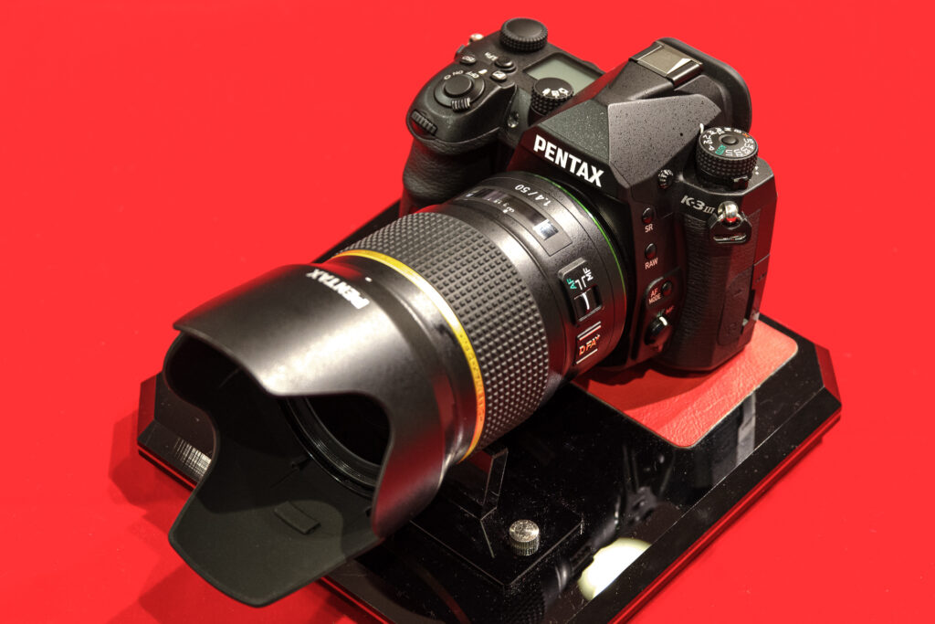 K-3 Mark III + DFA★50mmF1.4