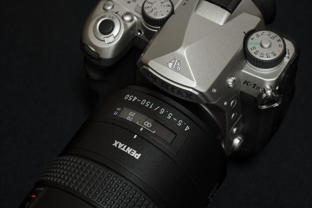 K-1 Mark II SE + DFA150-450mm アップ