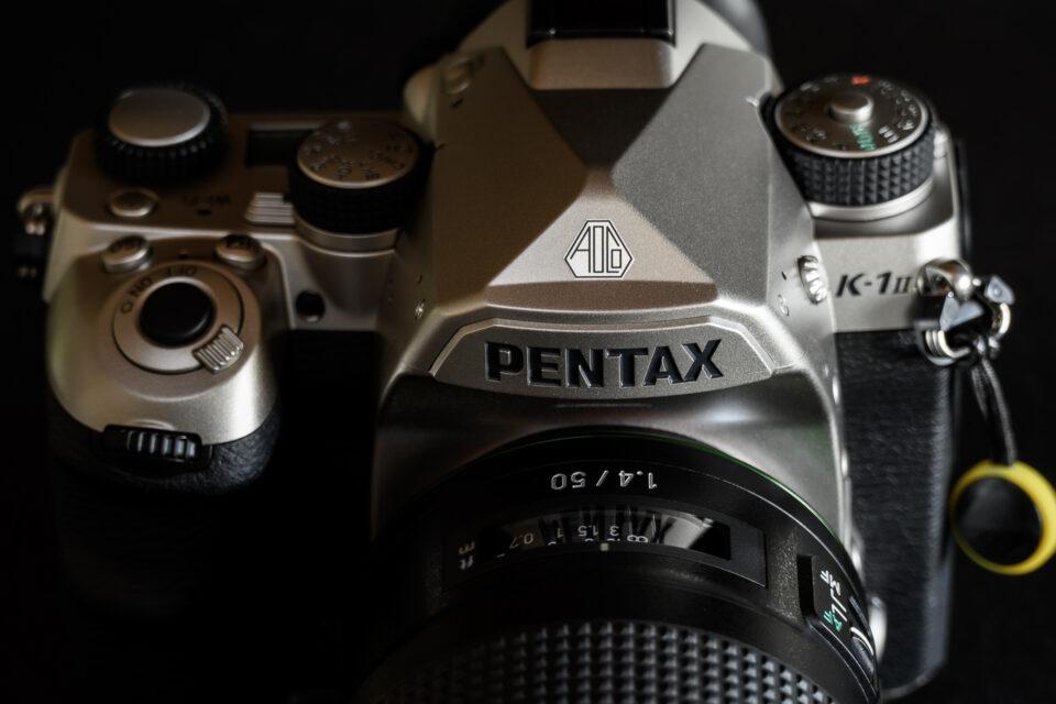 PENTAX K-1 Mark II ペンタ部アップ