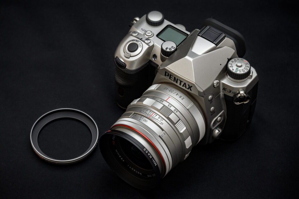DA20-40mm リミテッドのフード交換
