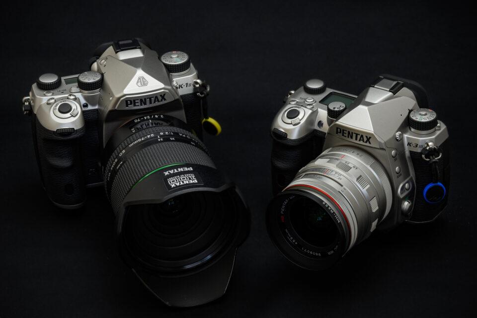 PENTAX K-3 Mark III と K-1 Mark II Silver Edition