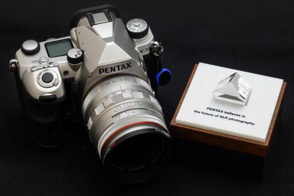 K-3 Mark III ペンタプリズムプレゼントキャンペーン