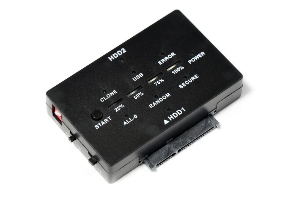 HDD/SSD 複製&データ消去アダプター UD-3101CLER 本体