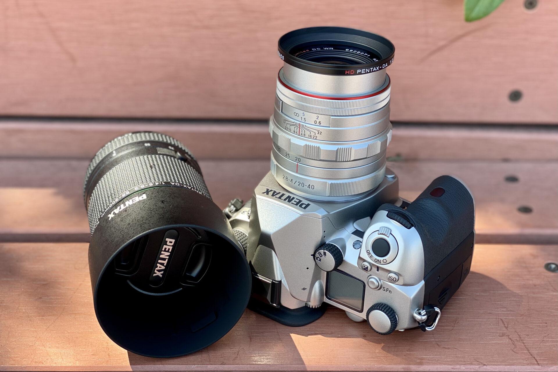 PENTAX K-3 III + 20-40mm + 55-300mmPLM