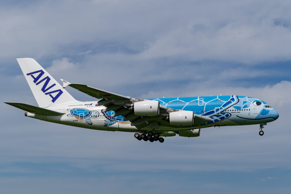 ANA A380 FLYING HONU 1号機