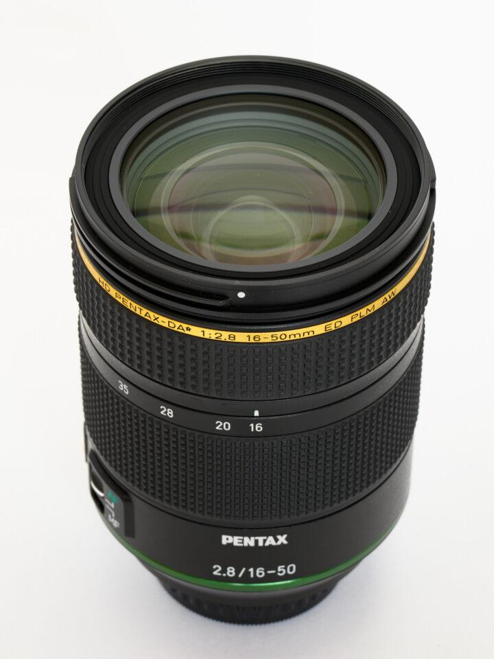HD PENTAX-DA★16-50mmF2.8ED PLM AW 前玉側