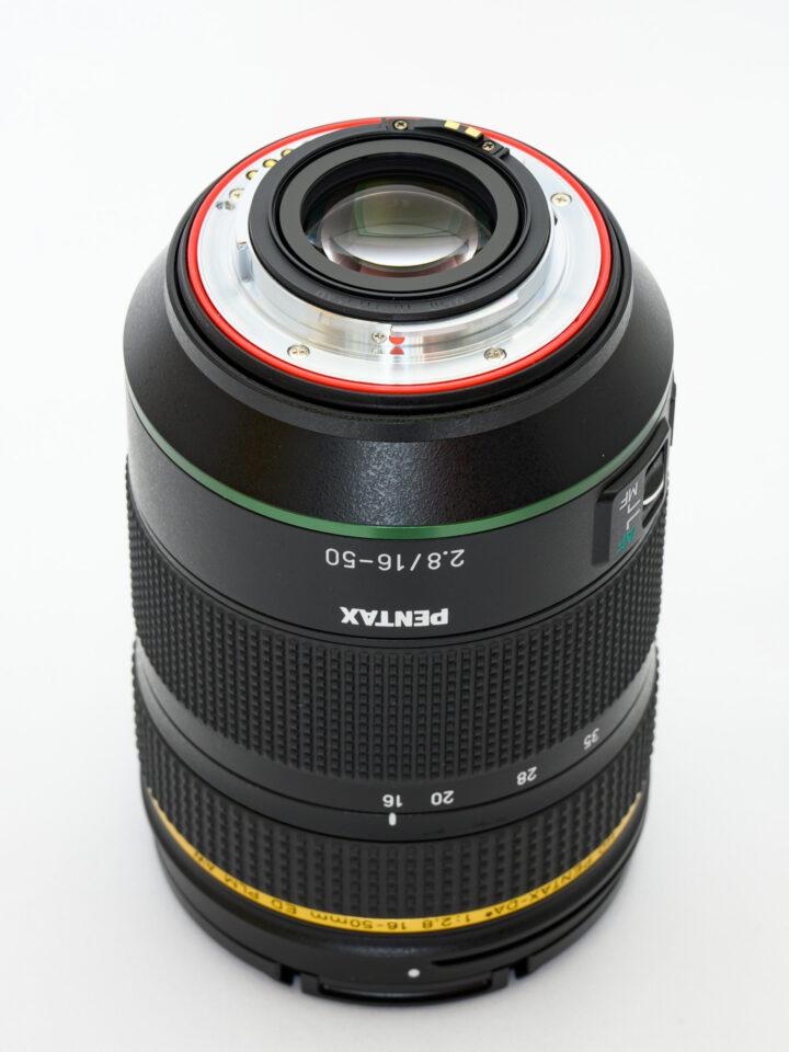 HD PENTAX-DA★16-50mmF2.8ED PLM AW 後玉側