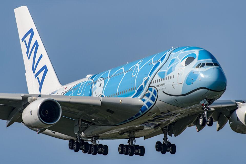 ANA A380 JA381A