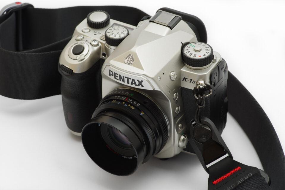 PENTAX K-1 Mark II Silver Edition + pd アンカー黒 + pd スライド黒