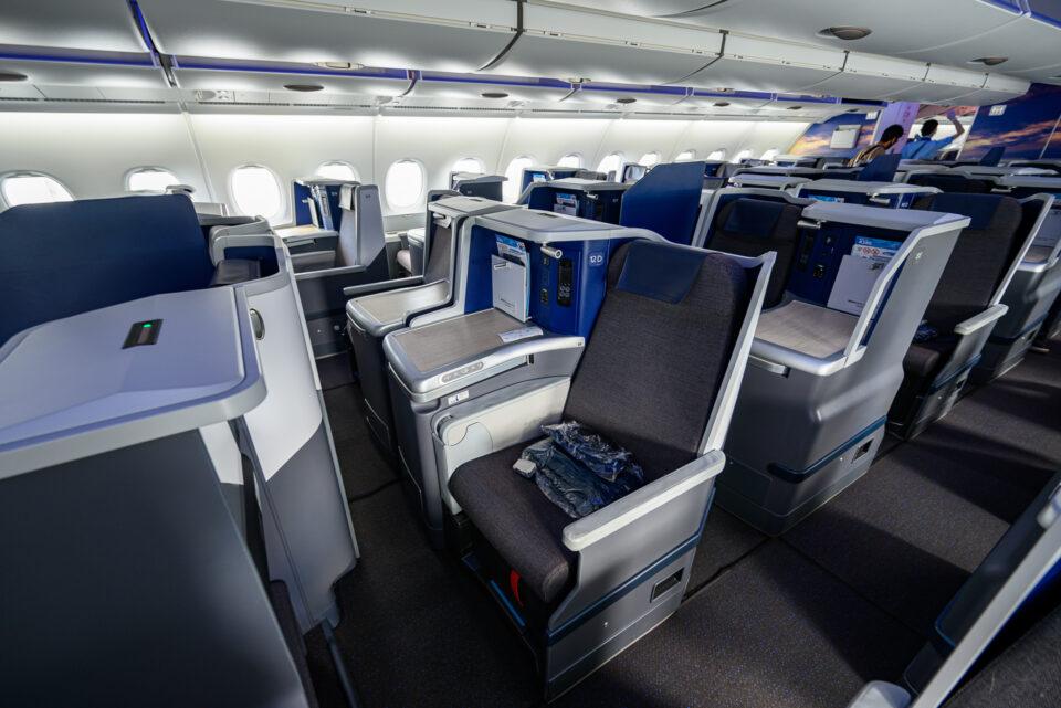 FLYING HONUビジネスクラスのシート