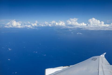 FLYING HONU機窓からの景色
