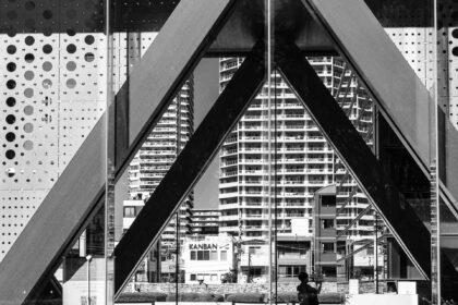 東京都現代美術館の入り口