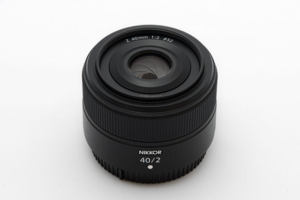 NIKKOR Z 40mm f/2 前玉側