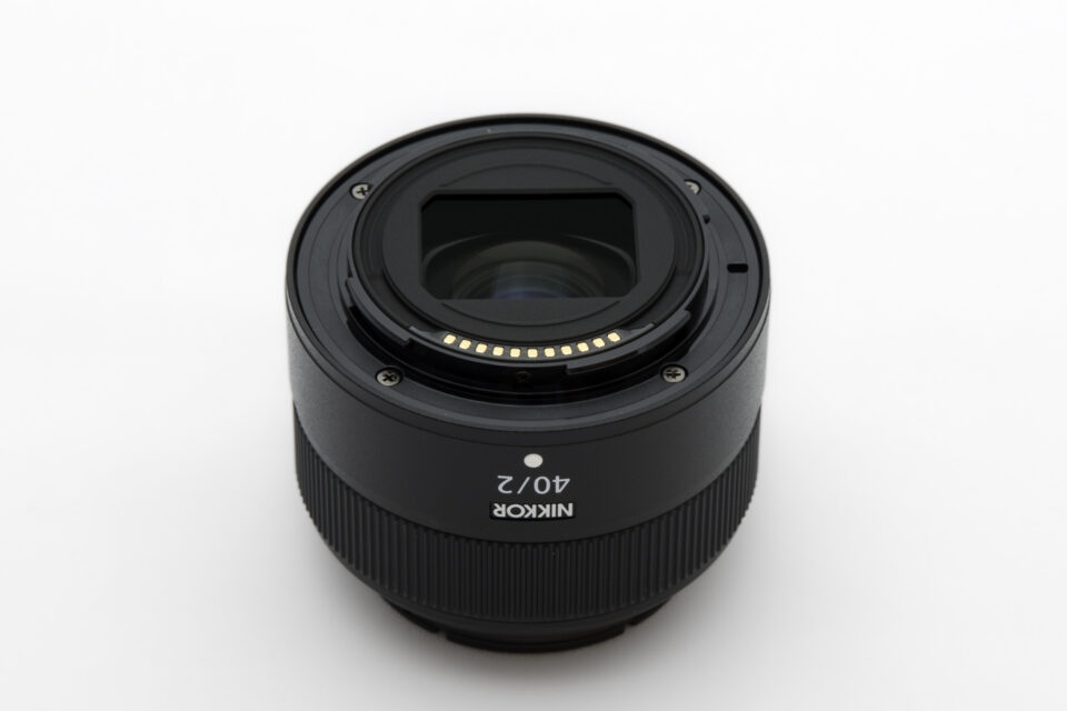 NIKKOR Z 40mm f/2 マウント側